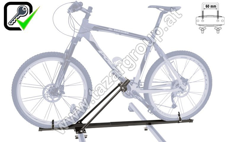 fahrradtr ger f r die dachtr ger top bike lock. Black Bedroom Furniture Sets. Home Design Ideas